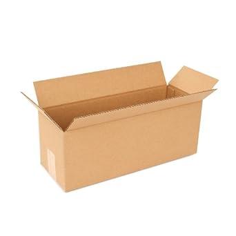PRATT pra0162 reciclado sola pared de cartón corrugado caja de estándar con flauta de C,