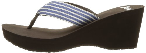 REEF - INFRADITO ZEPPA DONNA - GOLDEN - BROWN/BLUE - US 11 - EUR 43