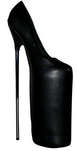 Erogance Femme Pumps Plateau Pour High 30cm Escarpins Heels Extrem Noir 6wrBq86