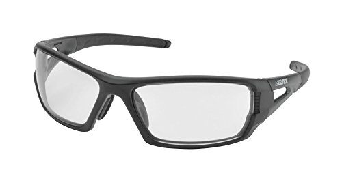 Elvex WELSG61CAF Rimfire Tactical Sunglass Style Ballistic Eyewear in Clear with Supercoat Anti-Fog Lens, 2