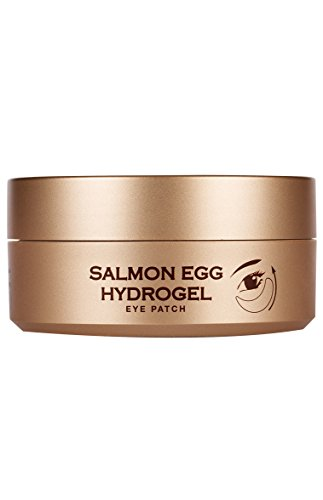 BOTANIC FARM Salmon Egg Hydrogel Eye Patch, 30 Count