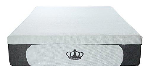 DynastyMattress 14.5-Inch CoolBreeze Plush Gel Memory Foam Mattress w/Free Pillows(Cal King) (Cal King Plush Foundation)