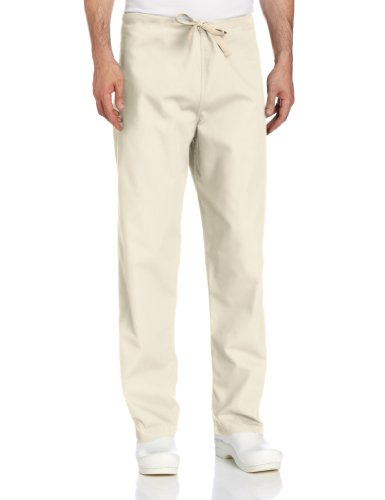 - Landau Comfort Stretch One-Pocket Reversible Drawstring Scrub Pant, Sandstone, Large