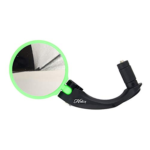 Quality Bike Bicycle Safe Riding Road Outdoor Handlebar Flexible Rear Back View Rearview Mirror Safety