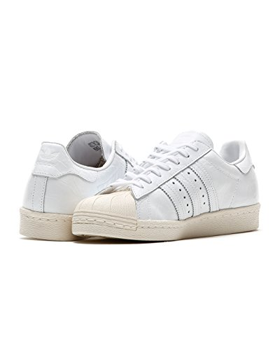 adidas Damen Schuhe Superstar 80S W BB2056 weiß UK 5,5