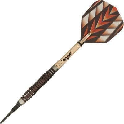 Shot! Darts Tribal Weapon-Soft Tip Dart Set-Centre Weighted-90% Tungsten Barrels