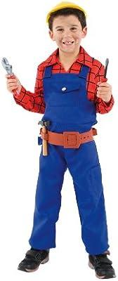 César - Disfraz de obrero para niño, talla 5-7 años (C563-002 ...