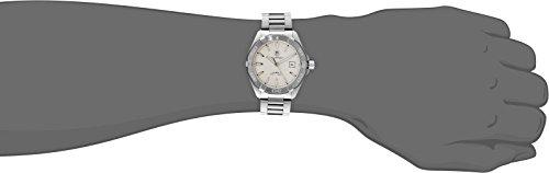 TAG Heuer Men s WAY2111.BA0910 Analog Display Swiss Automatic Silver Watch