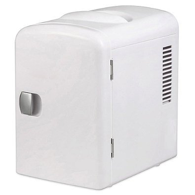 Personal Mini Fridge Cooler / Warmer White by Gourmia