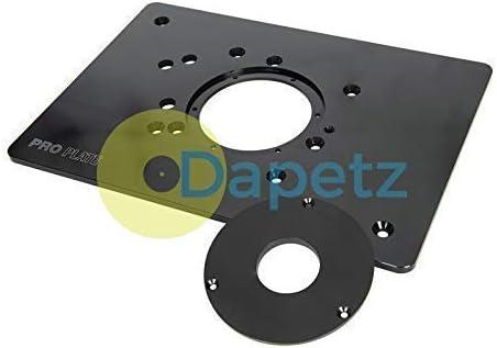 Aluminium Pro Routeur plaque pour TRITON Routeurs 210x 298 mm 8-1//4 x 11-3//4