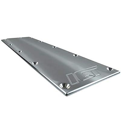 ICT Billet LS Gen 4 Valley Pan Cover Plate Low Profile Carb Lifter LSX LS3 DOD Billet Aluminum Engine Lifter Area Oil Cover Compatible with Chevy Gen IV 551646: Automotive