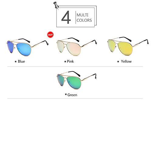Jaune Pilote Soleil de Lunettes 100 Paire de Easy Homme Style de polarisées avec Anti UV pour Go Lunettes Militaire wOCqOIZUf5