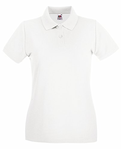 taglie Polo Fruit Tutte polo of loom by Polo donna Premium tshirteria Women the Bianco le pAq1xBwpP