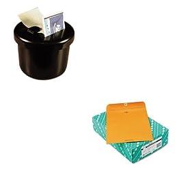 KITLEE40100QUA38197 - Value Kit - Quality Park Clasp Envelope (QUA38197) and Lee Ultimate Stamp Dispenser (LEE40100)