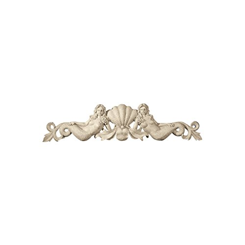 Design Toscano Mermaid Architectural Wall Pediment