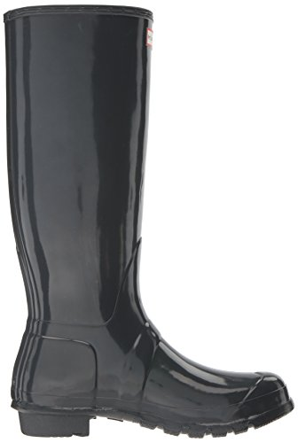 Hunter Original Damen Dark Slate Gloss Gummistiefel