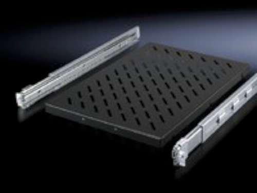 Rittal DK 5501.675 –  Zubehö r-Rack (500 mm, 50 kg, 5,9 kg, schwarz, Edelstahl)