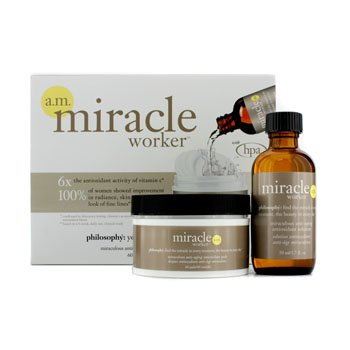 Miracle Worker AM Treatment Pads: Miraculous Anti-Aging Antioxidant Pads 60pads + Miraculous Anti-Aging Antioxidant Solu