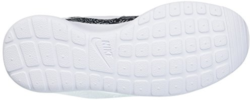 Nike Wmns Roshe One Print Prem, Zapatillas de Deporte para Mujer, M Blanco (Black / White)