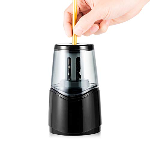 OMZER USB Electric Pencil Sharpener,Auto Stop Art Pencil Sharpeners Fit for...