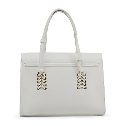 effet main Versace Sp Sac à cartable blanc stores Jeans xTwTAqznH