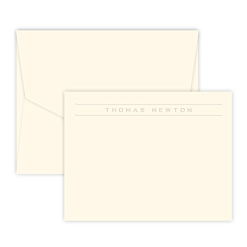 Personalized Corridor Card - Embossed (Ivory)