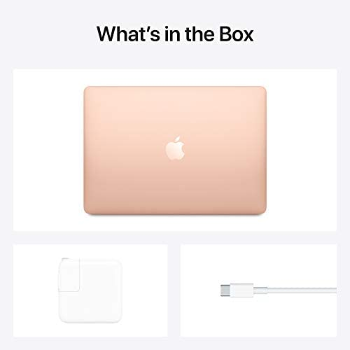 2020 Apple MacBook Air with Apple M1 Chip (13-inch, 8GB RAM, 256GB SSD Storage) - Gold