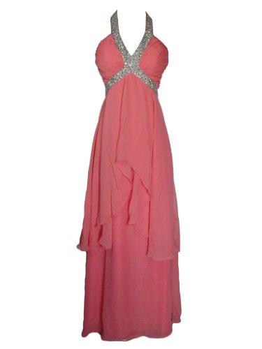 Kleid Fashion Damen Y Alivila Pfirsich HPWBOZ