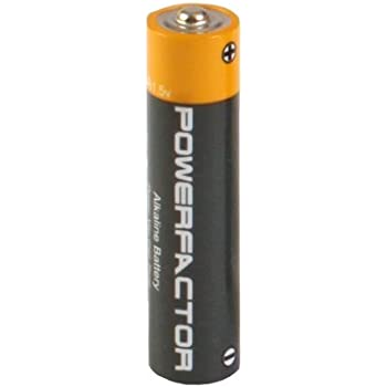 Amazon.com: PowerFactor AAA Alkaline Battery 24 Pack