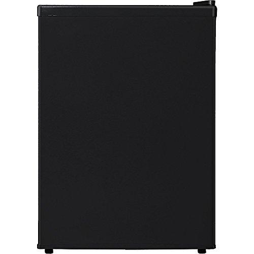 Midea WHS-87LB1 Compact Single Reversible Door Refrigerator, 2.4 Cubic Feet, Black