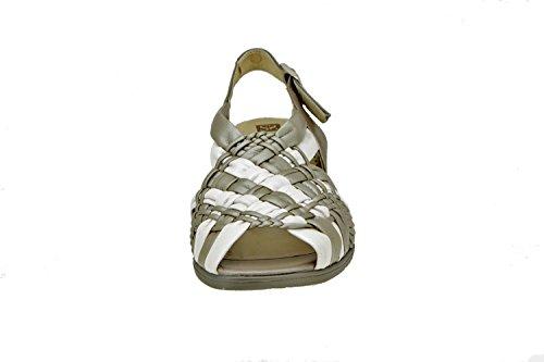 Modèle Femmes For Piesanto Titane Sandales 2562 En Cuir Comfortable Fdw4a1pxq