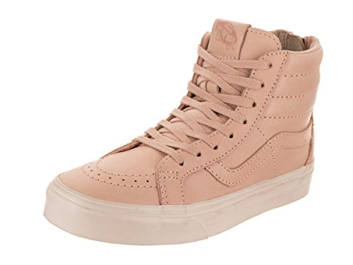 Vans Unisex Sk8-Mid Reissue Zi Veggie Tan Leather/Tan Skate Shoe 4 Men US / 5.5 Women US