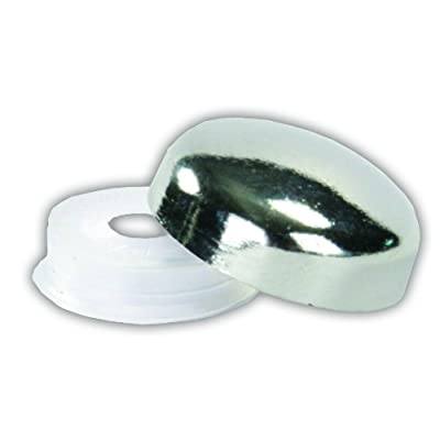 JR Products 20405 Screw Covers, Pack of 14 - Chrome: Automotive