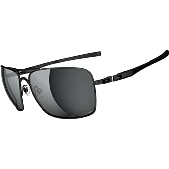 8ff9fe5c35 Oakley Plaintiff Squared OO4063-09 Polarized Aviator Sunglasses,Lead,55mm