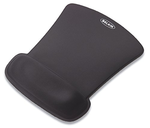 31rxgozM8QL - Belkin WaveRest Gel Mouse Pad Black