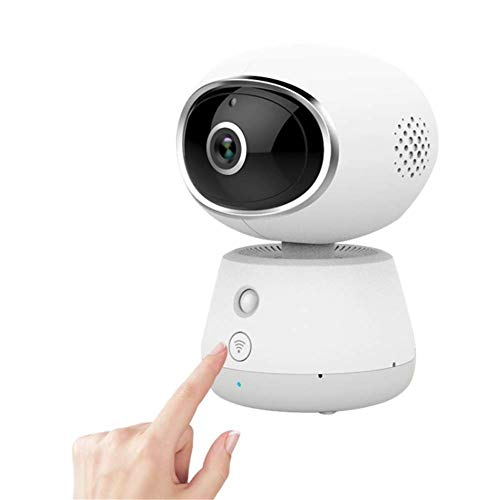 MYXMY Baby Monitor 1080P Wireless Home Surveillance Camera External HD Night Vision Home Indoor Monitor Baby Elder Pet Dog Monitor (Color : 32G Memory Card)