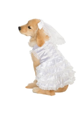 Rubies Pet Costume,Bride