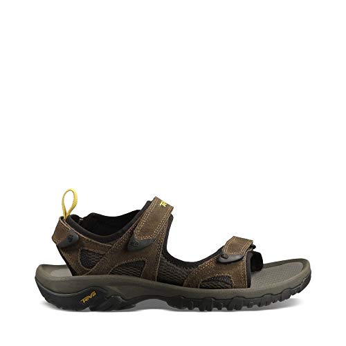 Teva Men's Katavi Outdoor Sandal,Brown,14 M US (Teva Mesh Sandals)