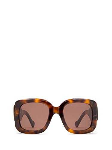 Luxury Fashion | Balenciaga Woman BB0069S002 Brown Acetate Sunglasses | Season Permanent
