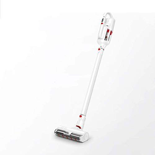 (XHCP Cylinder Vacuums Wireless Vacuum Cleaner Household Hand-held Powerful Small Push Rod Large Suction Mute dehumidifier (with Battery) Vacuums)
