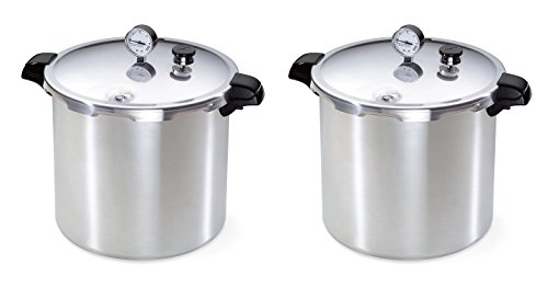 Presto 01781 23-Quart BLDYNd Pressure Canner and Cooker (Pack of 2)