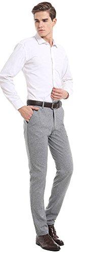 Flat Front Linen Trousers - 2