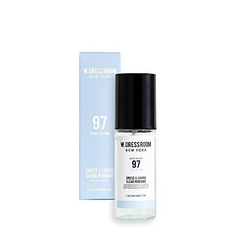 礼儀重々しい司令官W.DRESSROOM Dress & Living Clear Perfume 70ml/ダブルドレスルーム ドレス&リビング クリア パフューム 70ml (#No.97 April Cotton) [並行輸入品]