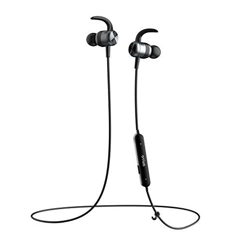 Bluetooth Headphones, Otium Magnetic Wireless Earbuds IPX7 Waterproof in-Ear Sports Earphones w/Mic Gym Running Cycling Workout(Super Sound Quality, CVC 6.0 Noise Cancelling Secure Fit) by Otium