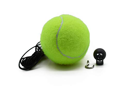 Price comparison product image PAUTO-P Garage Asisst Parking, Garage Parking Aid / Ball Guide System, Parking Assistant kit Includes Tennis Ball with Rope,  Adjustable Clip and Hooks