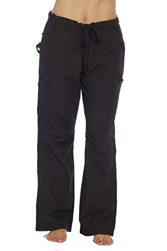 24000PBLK-3X Just Love Women's Utility Scrub Pants / Scrubs, Black Utility, 3X