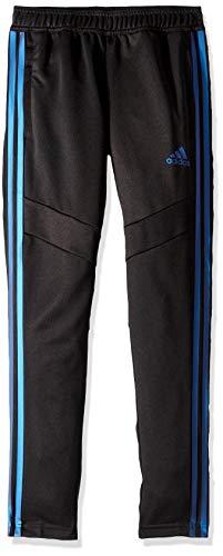 adidas Originals Boys' Big Tiro 19 Pant, Black/Blue Pearl Essence, Medium