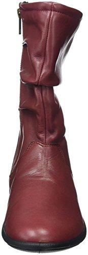 Padders Regan, Chelsea Boots Femme Rouge (Wine)