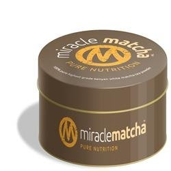 Miracle Matcha 100% Pure White Matcha Tea 40g by Miracle Matcha by Miracle Matcha