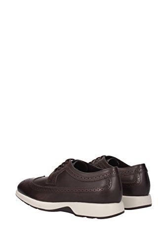 Hogan , Chaussures de ville à lacets pour homme * Marron